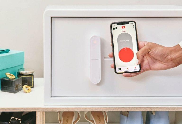 Mycube Safe per Smartphone steuern