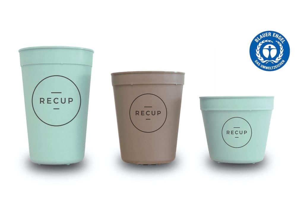 Kaffeebecher von RECUP