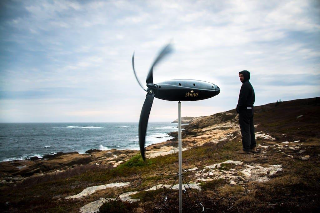 Shine Turbine von Aurea Technologies