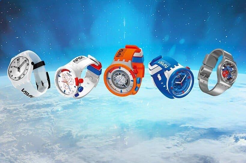 Swatch Space Kollektion Uhren 2021