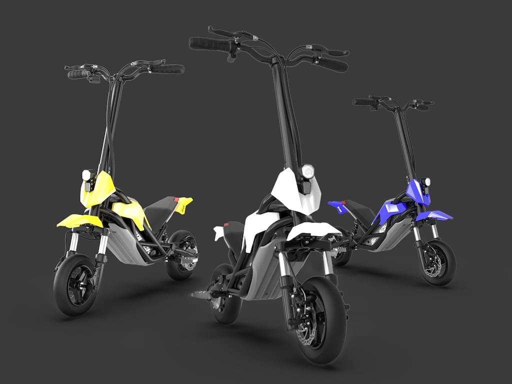 Transformer E-Scooter Farben von Splach