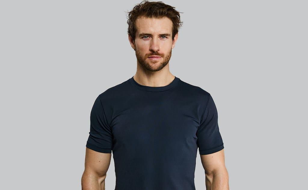 Blaues Vollebak Ceramic T Shirt