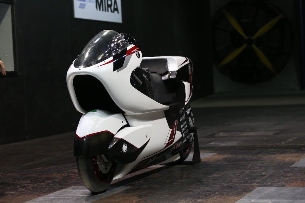 WMC250EV - schnellste E-Motorrad der Welt