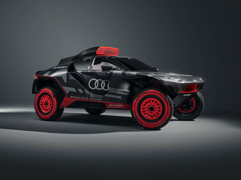 Seitenansicht - Audi RS Q e-tron