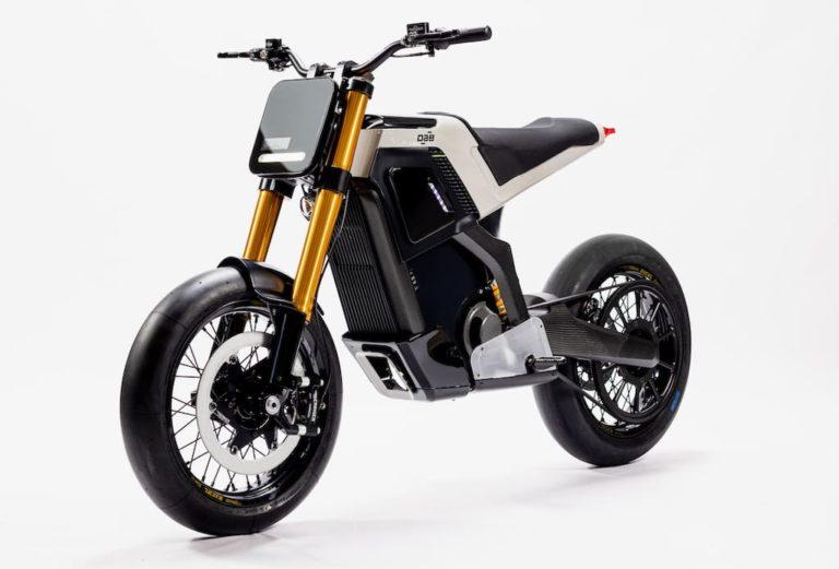 Concept-E Motorrad von DAB Motors