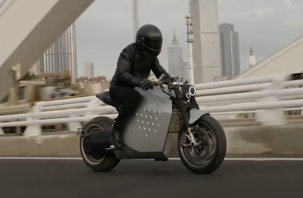 DaVinci DC100 E-Motorrad