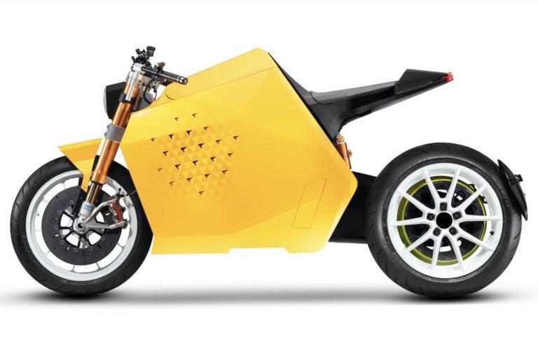 DaVinci DC100 Elektro-Motorrad