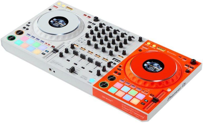 Der DJ-Controller DDJ-1000-OW