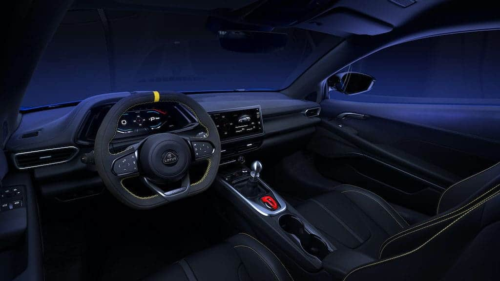 Lotus Emira Cockpit & Interior