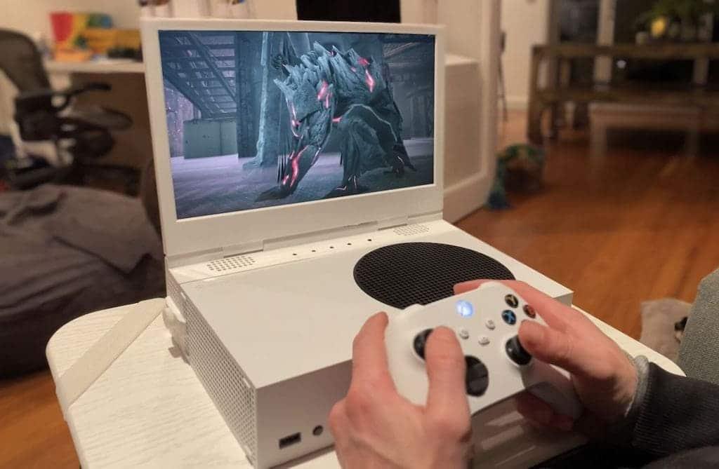 xScreen Bildschirm für Xbox Series S