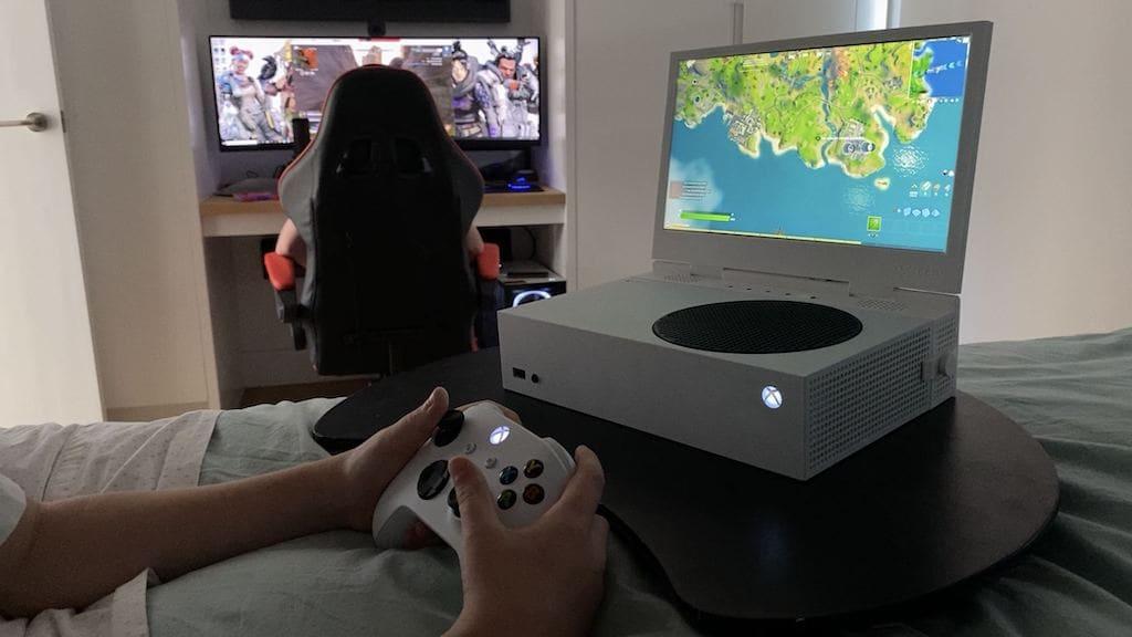 xScreen Add-on für Xbox Series S