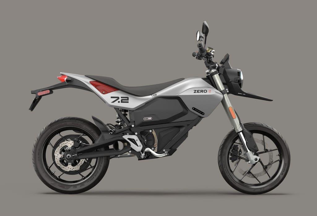 Zero FXE Elektromotorrad