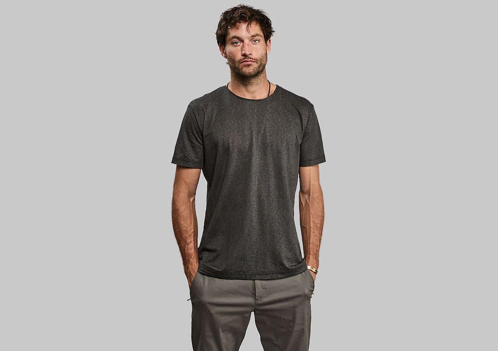 Black Algae T-Shirt von Vollebak