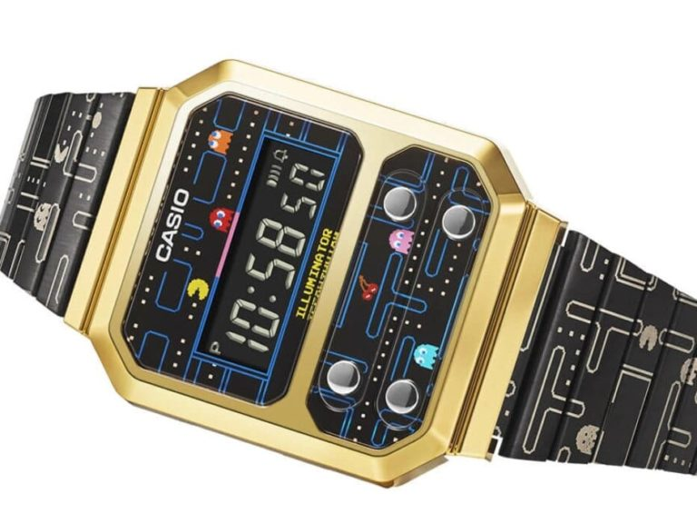 Digitaluhr CASIO × PAC-MAN