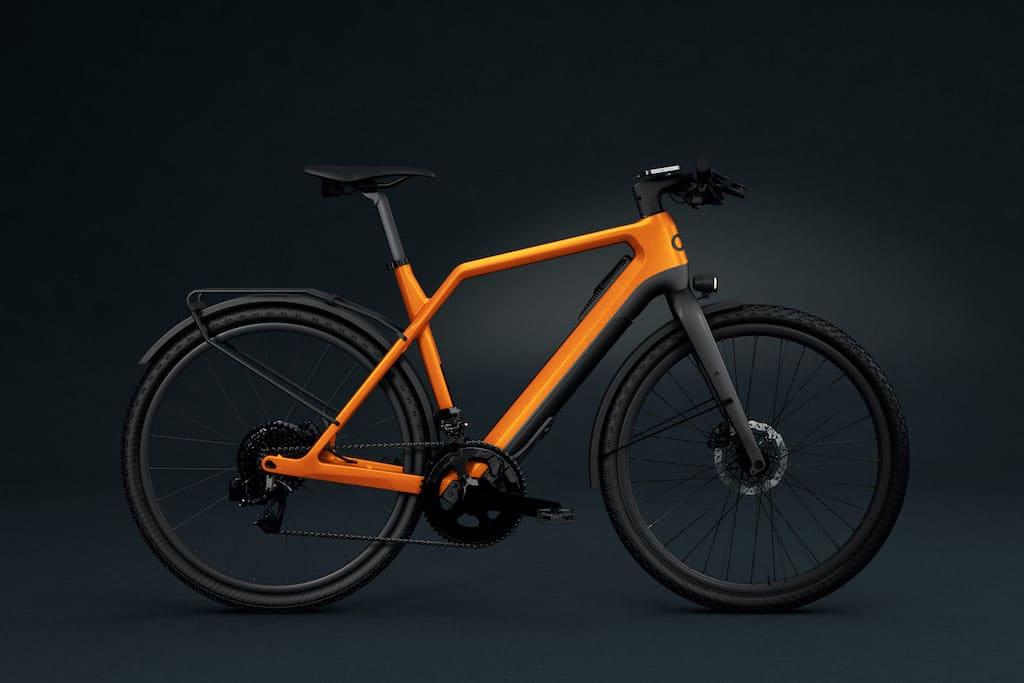 Cyklaer E-Urban in Orange