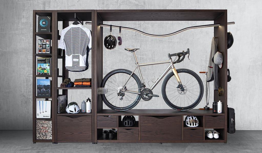 Domus R3 Bikeschrank: Modular erweiterbar