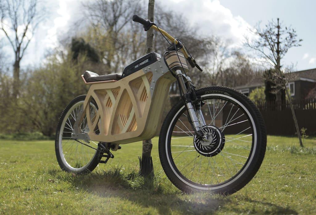 Electraply E-Bike aus Holz