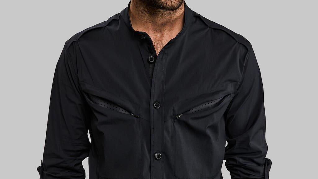 Vollebak Equator Shirt in Schwarz