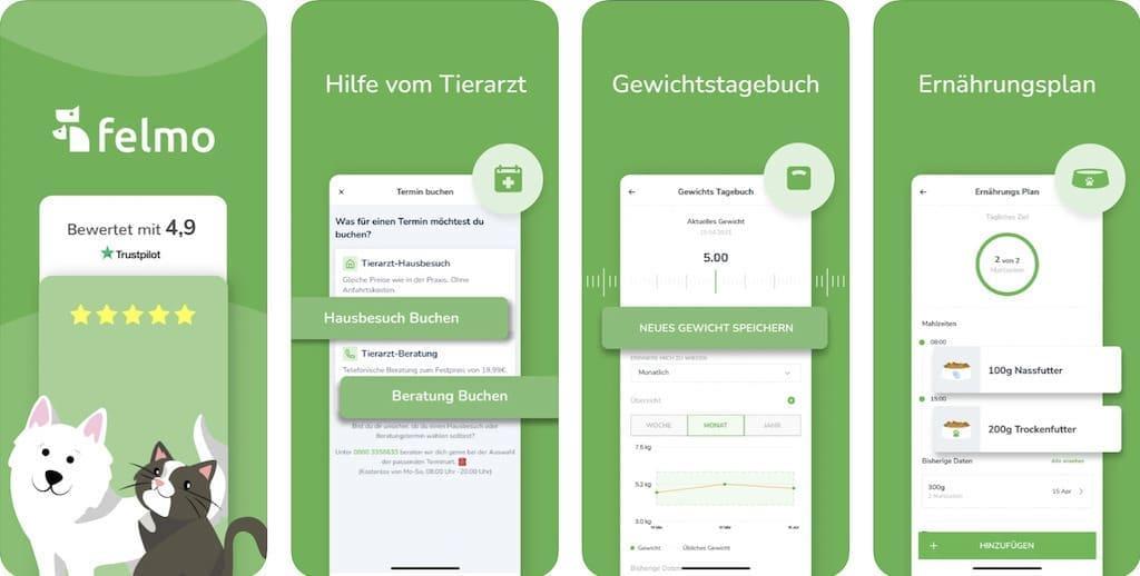 felmo - mobiler Tierarzt iOS App