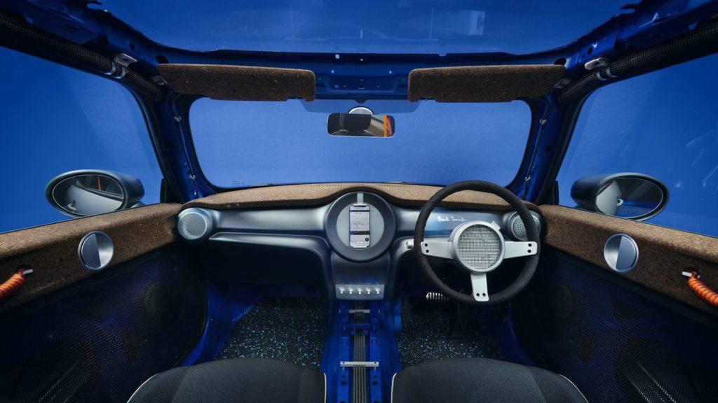MINI Strip Interior und Cockpit