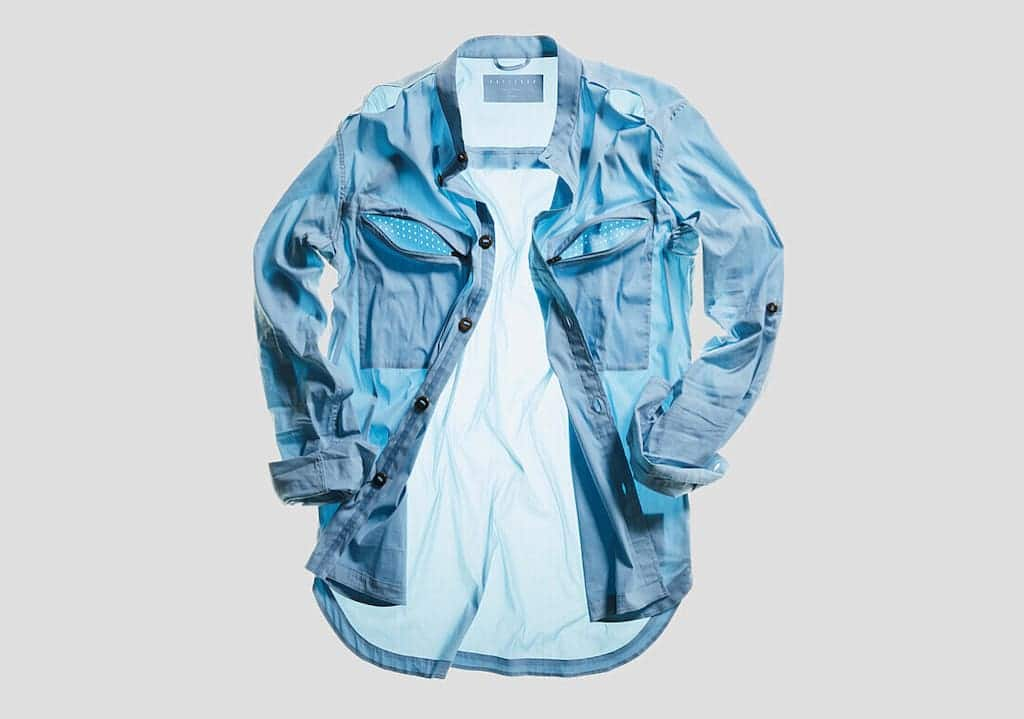 Equator Shirt in Blau
