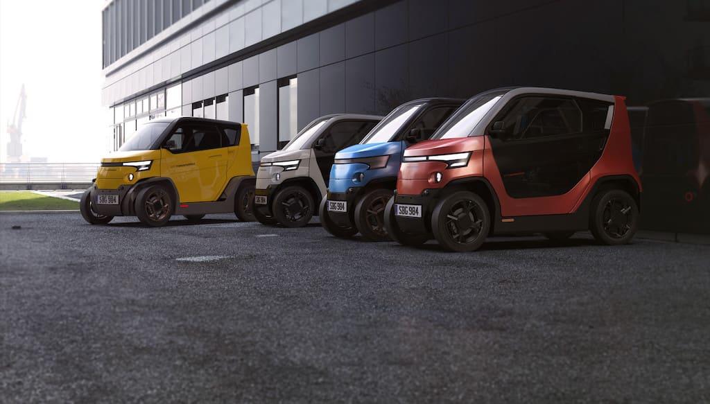 Das Mini-Elektroauto City Transformer