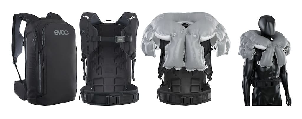Commute A.I.R. Pro 18 Airbag-Rucksack