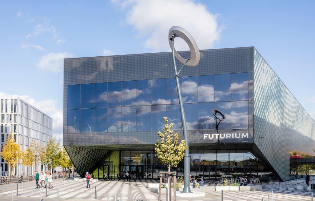 Zukunftsmuseum Futurium in Berlin