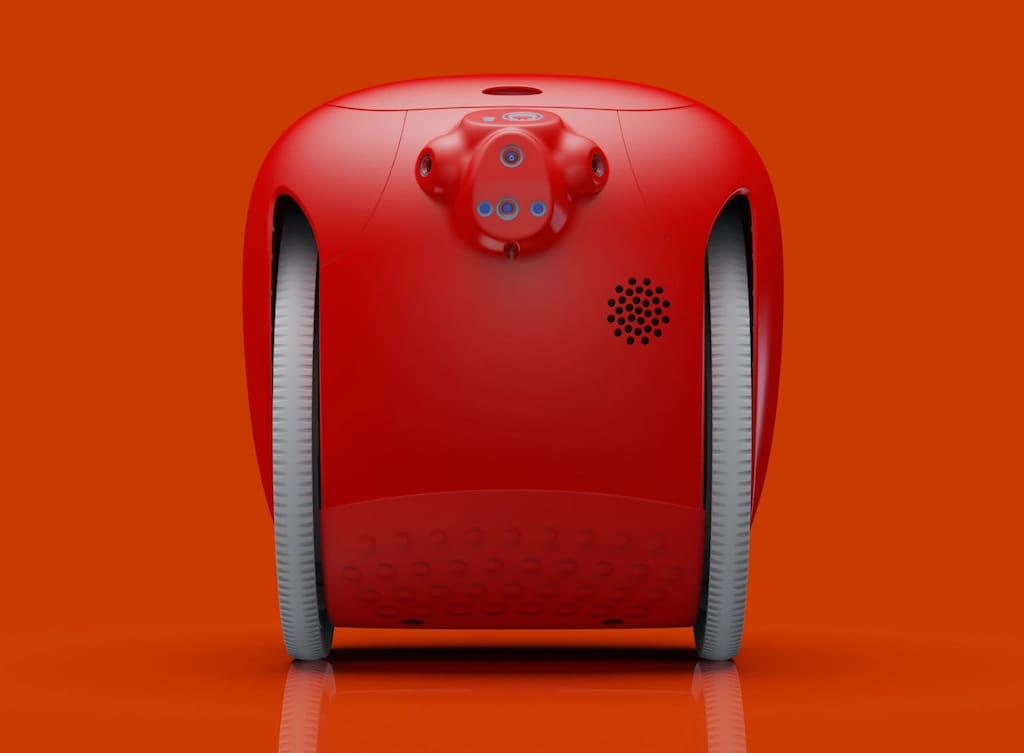 Gita Roboter in Rot