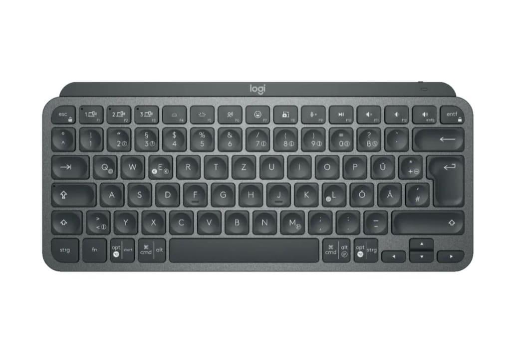 Logitech MX Keys Mini Tastatur in Grafit