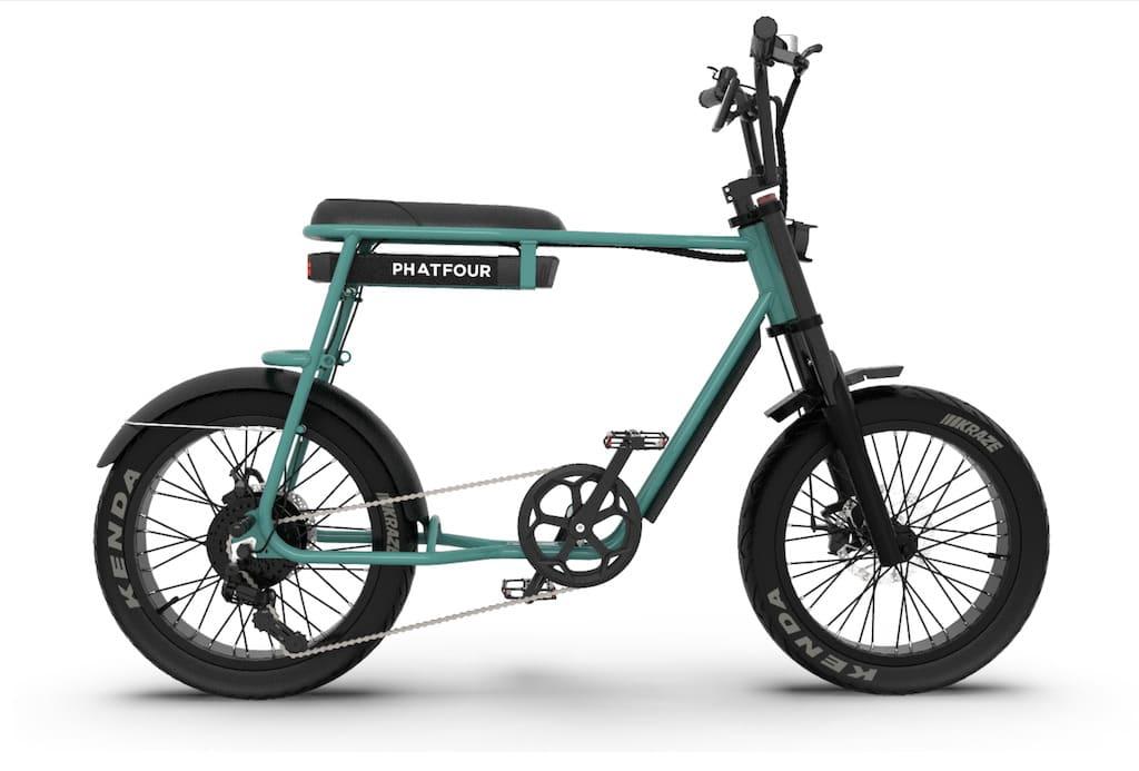 Phatfour e-bikes: FLB Series