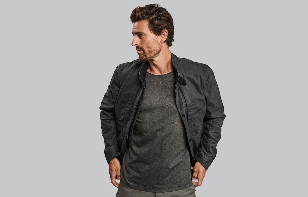 Planet Earth Jacket. Granite edition