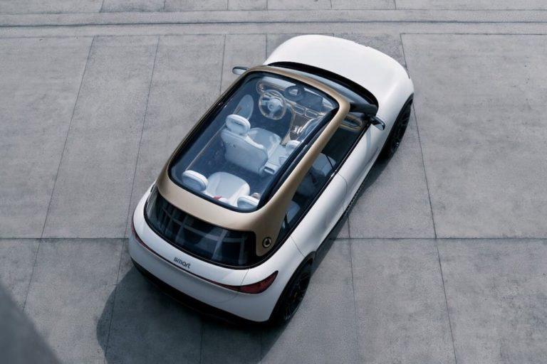 Glasdach des smart Concept #1