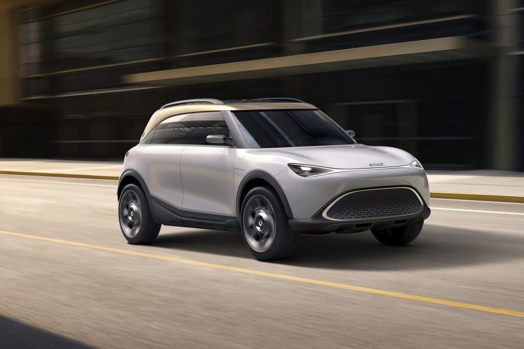 smart Concept #1 Konzept-Auto