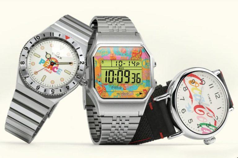 Timex x Coca-Cola Uhren