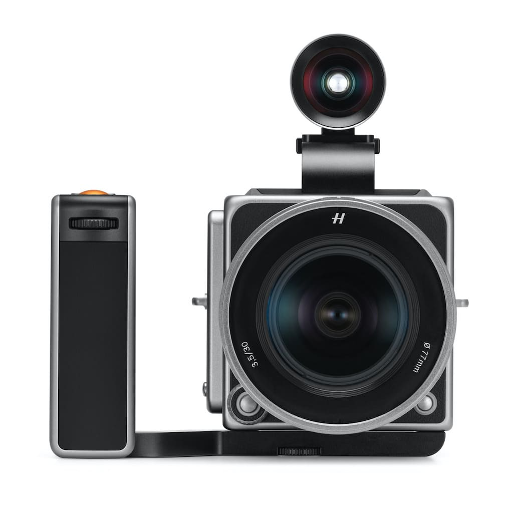Hasselblad 907X Frontansicht: Anniversary Edition Kit Kamera von Hasselblad