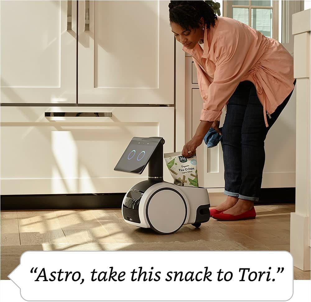 Amazon Astro als Lieferroboter