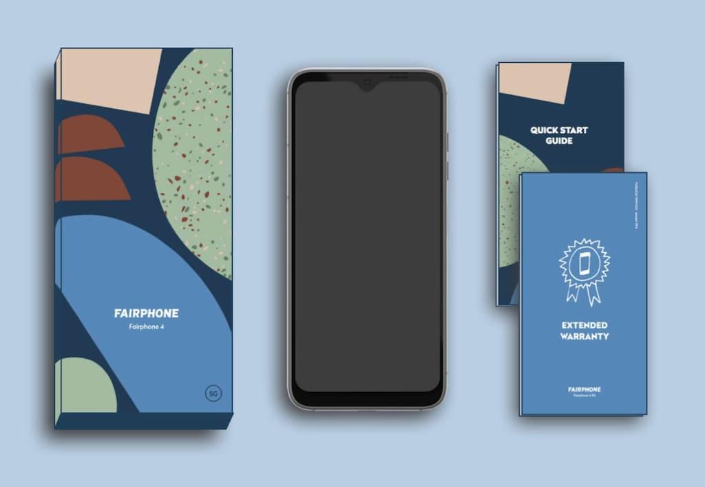 Fairphone 4 Lieferumfang
