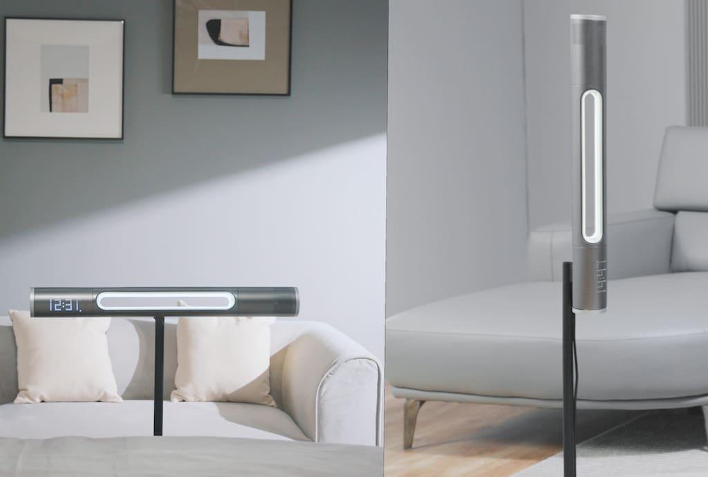 Haxson Smart AirFan im Wohnzimmer