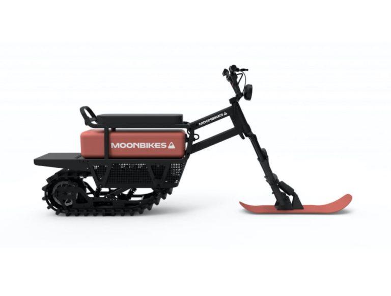 E-Snowbike Moonbikes Motors