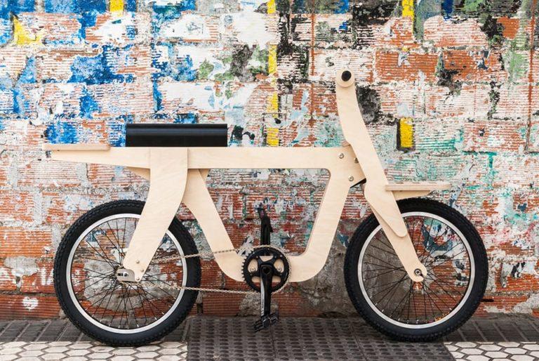 OpenBike Fahrrad aus Holz