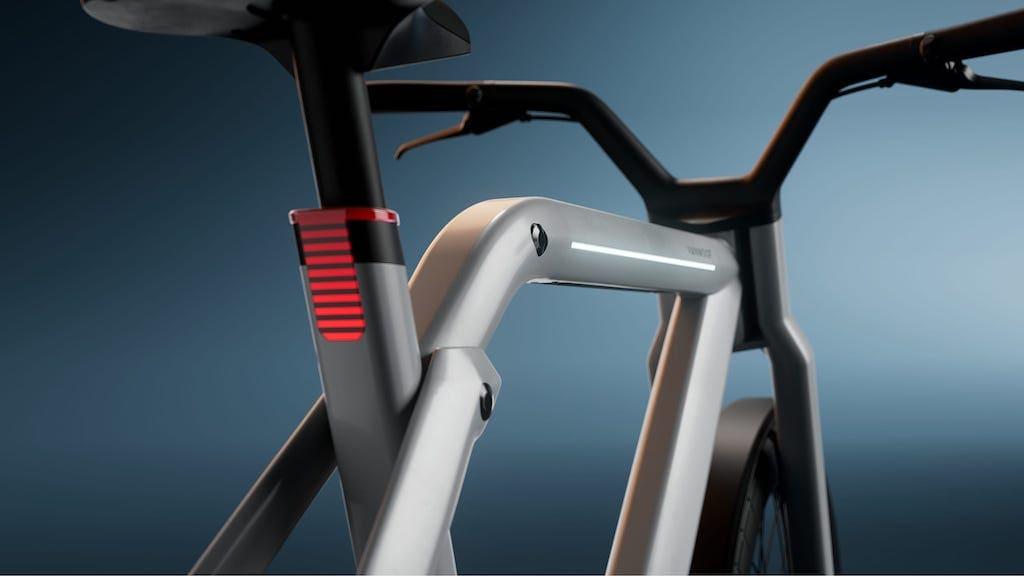 Rahmenrücklicht des VanMoof Bikes