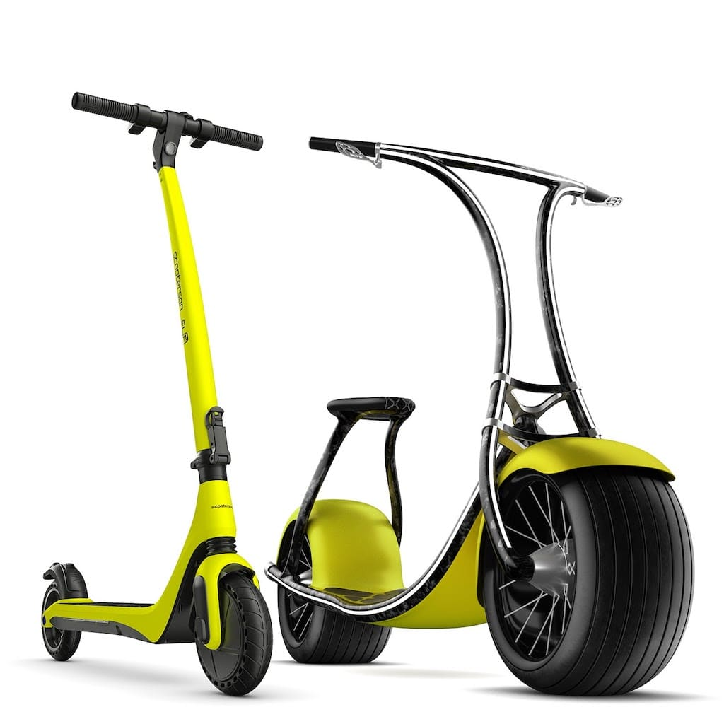 Scooterson e-Scooter Elf und Rolley