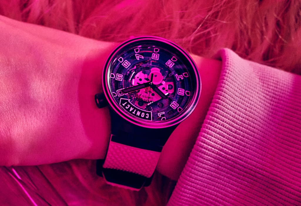 Swatch Big Bold Planets - Modell Touchdown